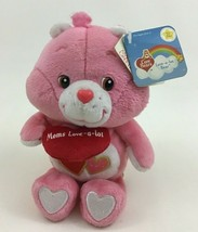 "Care Bears Love-a-Lot Bear ""Moms Love-a-lot"" Plush Stuffed Toy New Tags 20th - $16.88"