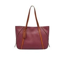 FOSSIL Ava Shopper Bag, Maroon Multi, NWT $248 - $120.73