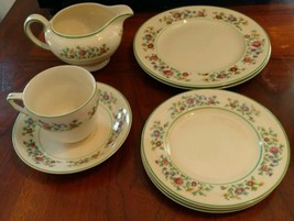 Johnson brothers Petit Point Victorian 8 Pieces - $56.10