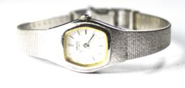 Women's Seiko Quartz Wristwatch 17mm 2C21-5149 Mesh Band - $19.79
