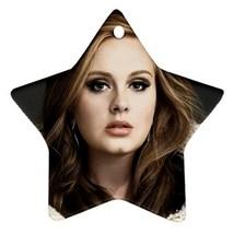 Memorabilia Star Ornament - Adele Star Procelai... - $3.79