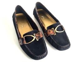 Anne Klein iflex Grecia Ballet Flats Womens Size 8M Black Slip On Comfor... - $33.65