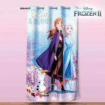 """Girls Disney Frozen 2 Bedroom Curtain Panel 63"""" x 87"""" - $49.45"""