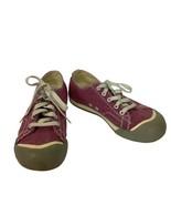 Keen Womens Size 7 Coronado Purplish Pink Canvas Lace Up Low Top Sneakers  - $14.38