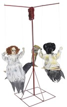 "Ghostly Go Rounds 3 Dolls Animated LifeSize 6 ft Haunted House Prop ""FAS... - $179.99"