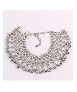 Tinkling Bell Charm Anklet Melodious White Gold Plated Alloy Bella Anklet - $17.98