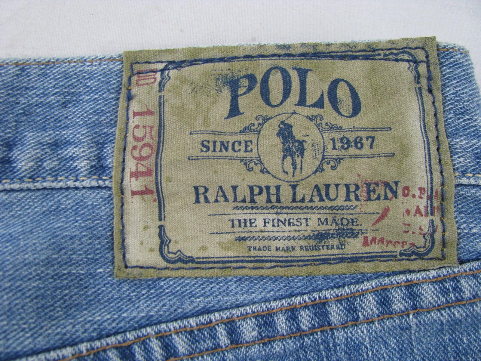 f194fe7d Polo Ralph Lauren Mens Classic Fit 867 Denim Jeans   Toffee Art