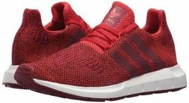 adidas Originals Mens Swift Run Running Shoe Red/Collgiate Burgundy/Whit... - $70.44