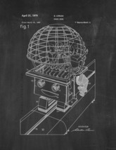 Robot Ride Patent Print - Chalkboard - $7.95+