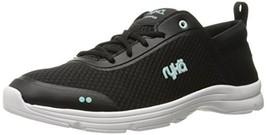 Ryka Women's Joyful Walking Shoe, Black/Mint, 6.5 M US - $67.11