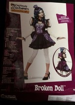 Broken Doll Costume California Small Dress Up Zombie Voodoo Freaky Scary... - £9.74 GBP