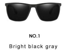 WHO CUTIE 2019 NEW Rectangle Polarized Sunglasses Men Brand Design Vinta... - $17.76