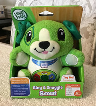 Leap Frog Sing And Snuggle Scout - Interactive Educational Plush, New In Box - $17.82