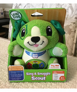 LeapFrog SING AND SNUGGLE Scout - Interactive Educational Plush, NEW IN BOX - $17.82