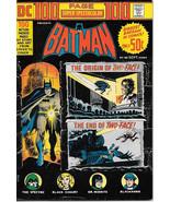 DC Comics 100 Page Super Spectacular Comic Book #20 Batman 1973 VERY FINE- - $33.78