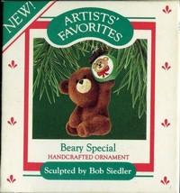 1987 - New in Box - Hallmark Christmas Keepsake Ornament - Beary Special - $3.95