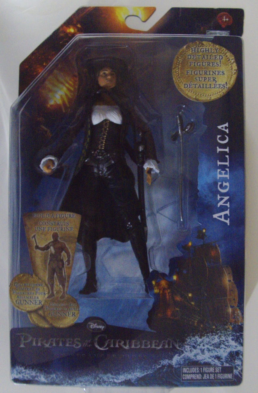 "Disney Pirates of the Caribbean on Stranger Tides Angelica 6"" figure - New"