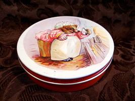 Huntley Palmers Biscuits Cookie Tin Vintage Souvenir Mrs. Tiggywinkle He... - $14.95