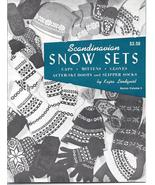 Scandinavian Snow Sets Knitting~Kajsa Lindquist... - £30.92 GBP