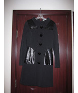 Emilio Pucci Cotton jersey coat dress Black 38 ... - $900.00