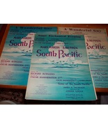 Vintage Sheet Music South Pacific Tunes  - $15.00