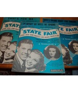 Vintage Sheet Music from State Fair Musical  - $15.00