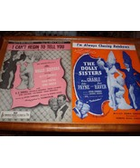 Vintage Sheet Music  The Dolly Sisters (2) - $9.99