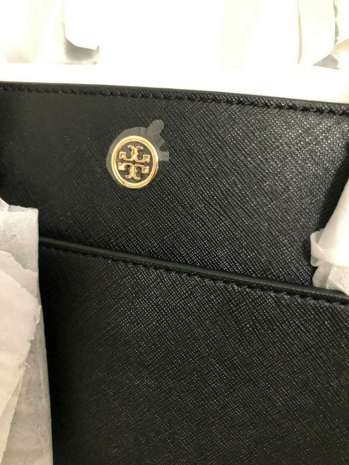 Tory Burch Robinson Small 3 Chamber Saffiano Leather Shoulder Pocket Tote New image 6