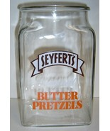 SEYFERT'S Original BUTTER PRETZELS - Large Counter Jar  - $39.99