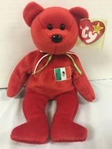 Ty Beanie Bear Italy Osito Red Bear 1999 W Tag - $4.46