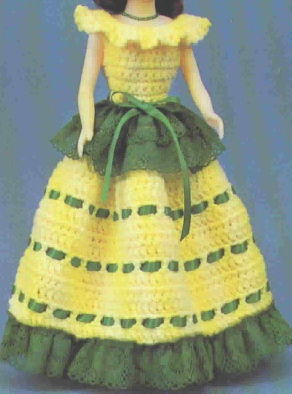 TD Creations Crochet Cordelia, Collectable Doll Series