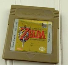 The Legend Of Zelda Link's Awakening Nintendo Game Boy Authentic Works S... - $40.00