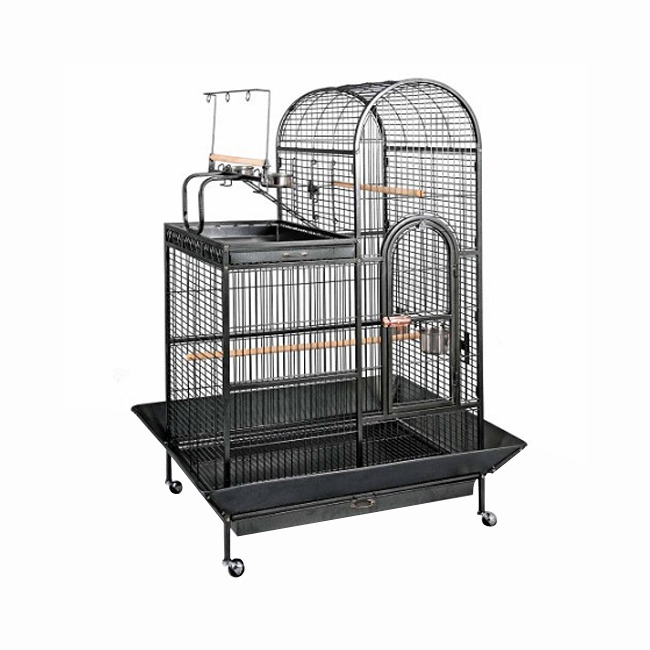 Primary image for PrevueHendryx ElegantVintageScrollworkDecorativeLargeFrontDoor Bird Cage-Black