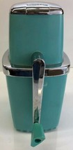 Swing A Way Ice Crusher Turquoise Blue Vintage antique Rare - $46.74