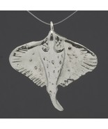 "Sterling Silver Stingray Pin Pendant 8.1 Grams 1-3/8"" x 1-1/2""  - $16.99"