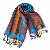 Exquisite Stripes Nation Totem Revitalized Style Pashmina - $14.99