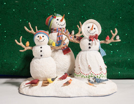 "Lenox ""Birds of a Feather"" Snow Family - $28.00"