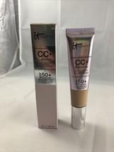 IT Cosmetics CC+ Illumination Full Coverage Cream in MEDIUM - Full Sz (1.08oz)! - $26.41