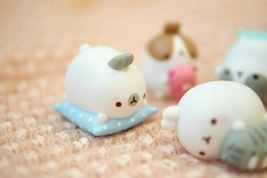 Molang Figures Volume 5 Lazy Sunday Set Miniature Figures Toy Set (5 Counts) image 5