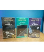 3 VTG Original NASA FILM Toys in Space, Who's out There, the Universe Do... - $24.70