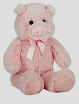 "Pig Plush 24"" Stuffed Animal Floppy Pink Super Soft Holiday Dan Dee - $29.69"