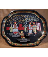 Murchies Tea Serving Tray Souvenir Collector Collectible Vintage Orienta... - $14.99