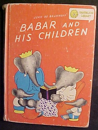 4) DANDELION BOOKS-AUDUBON'S BIRDS/ANIMALS;KIPLING STORIES;BEATRIX POTTER;BABAR
