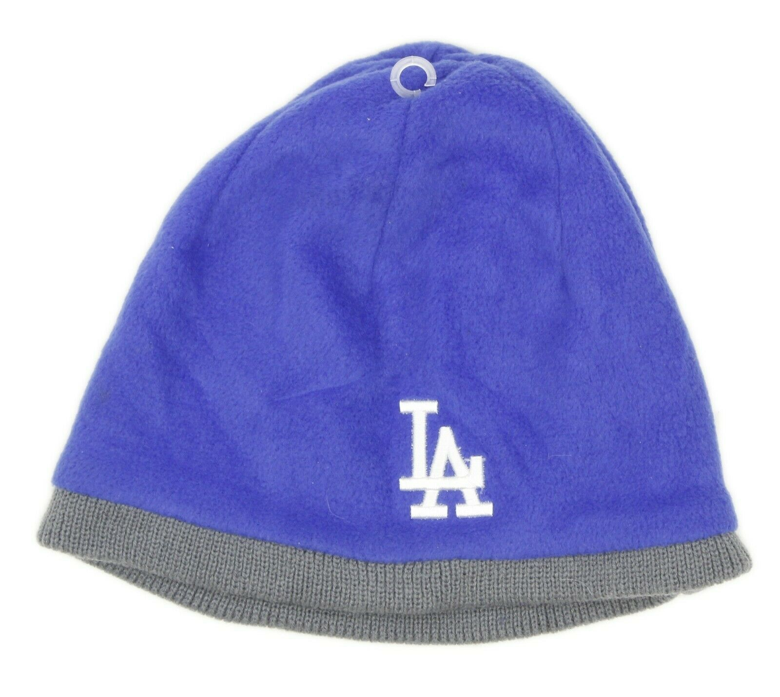 Twins Enterprise LA Dodgers Baseball MLB Blue Fleece Beanie Hat One Size