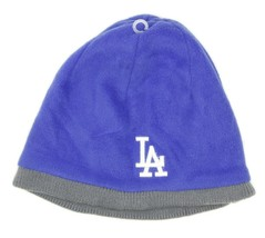 Twins Enterprise LA Dodgers Baseball MLB Blue Fleece Beanie Hat One Size - $24.74