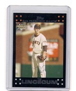 2 - 2007 Topps Baseball Tim Lincecum Rookie Card - Giants - $12.99