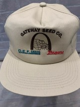GATEWAY SEED CO Triumph D.E.F. Seeds Arch Made in USA Snapback Adult Cap... - $19.79