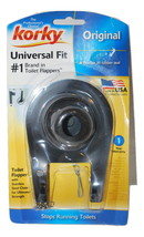 Korky Universal Fit Rubber Toilet Flapper & Chain Original 54BP - $2.15