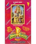 Mighty Morphin Power Rangers Series 2 wax box - $39.99