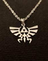Pendant - The Legend Of Zelda - Hyrule Crest - Nintendo - 925 Silver - H... - $47.00
